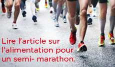 Article nutrition semi-marathon