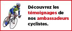 témoignages cyclistes