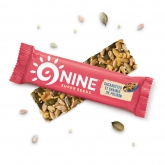 Barre de graines énergétique 9NINE Cacahuète - Potiron 40g