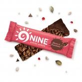 Barre de graines énergétique 9NINE Framboise - Cacao 40g